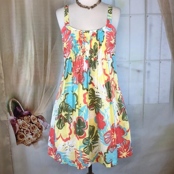 Amercan Rag Dresses & Skirts - American Rag Floral Cotton Summer Dress